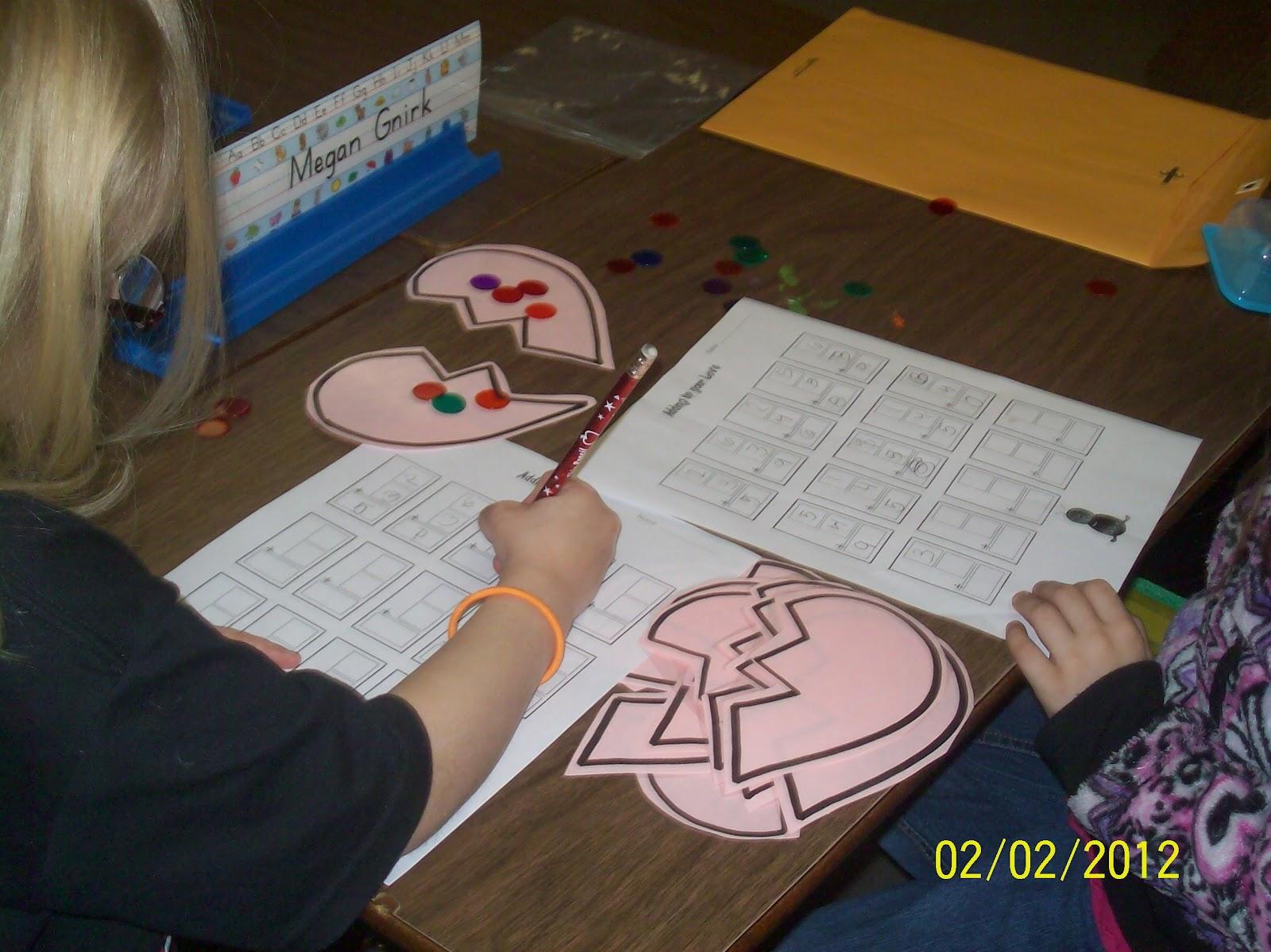 Mrs Straight S Kindergarten Korner February Math And