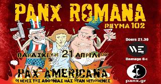 Ρεύμα 102 & Panx Romana live