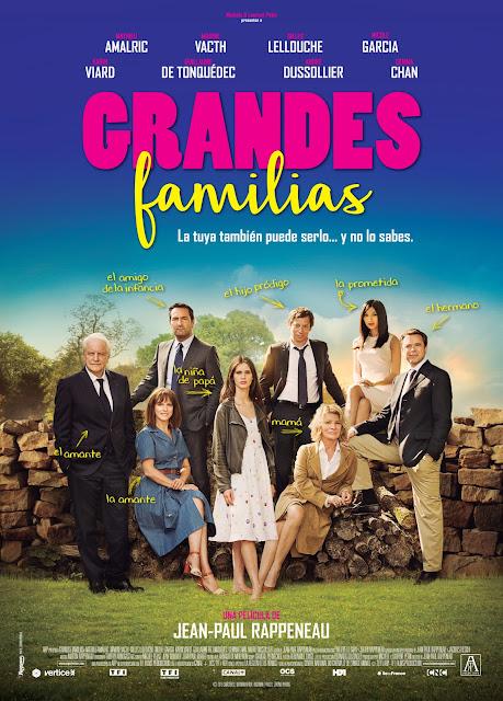 Póster y tráiler español de 'Grandes familias'