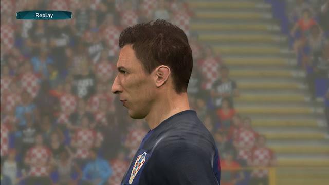 Mario Mandžukić Face PES 2017