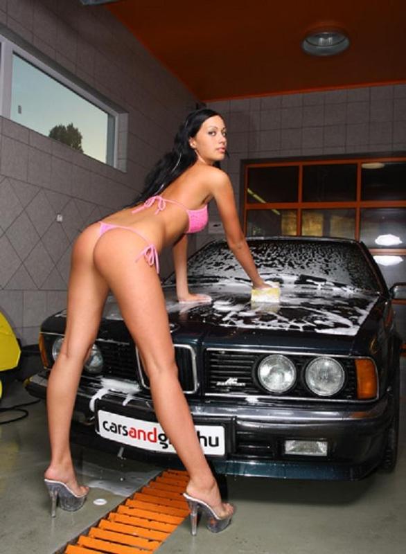 Bikini Babe Car 40