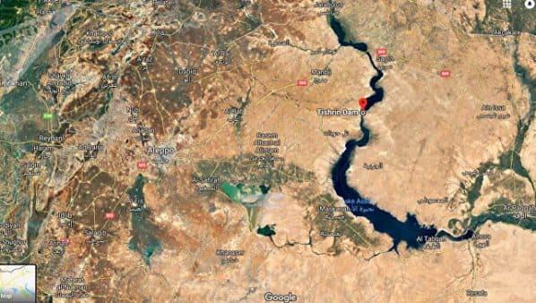 الجيش السوري يبسط سيطرته على سد استراتيجي على نهر الفرات.