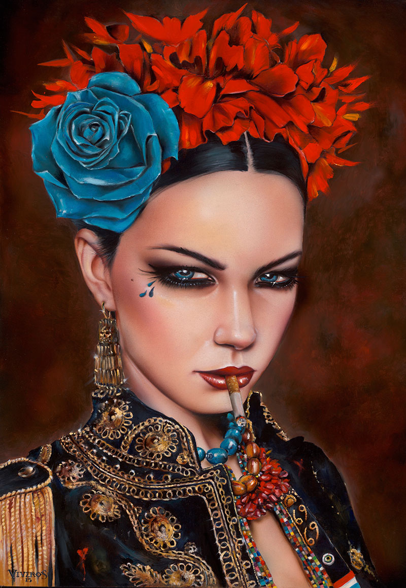 12-Forbidden-Brian-M-Viveros-Paintings-of-Femininity-in-the-Eye-of-the-Artist-www-designstack-co