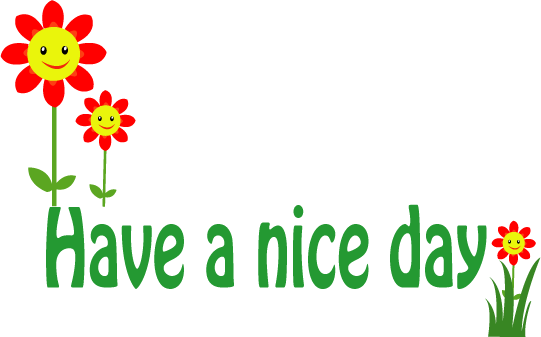 clipart have a good day - photo #47