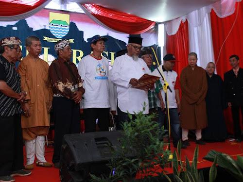 Persmian Kampung Toleransi Bojongloa Kaler Bandung