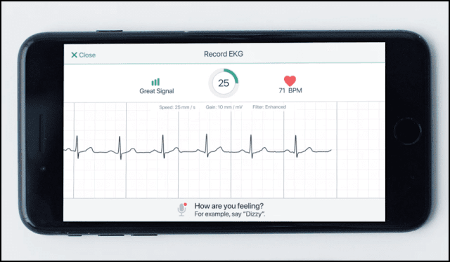 A new intelligent application to examine your heart and to detect heart attacks before they occur 87