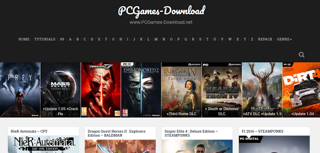 أفضل المواقع لتحميل الألعاب كاملة لحاسوبك ومجانا