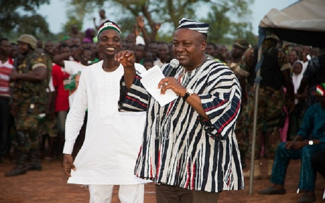 President John Mahama gives out more cars