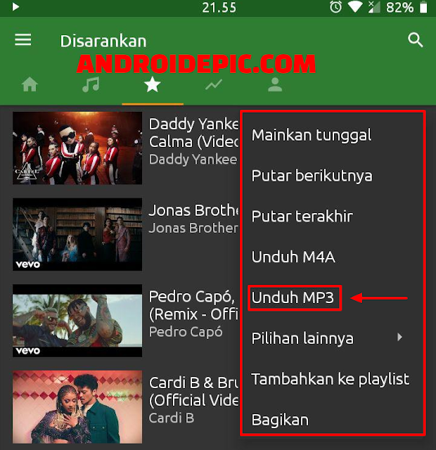 Cara Download Mp3 Dari Youtube Dengan YMusic Aplikasi Download MP3 dari Youtube