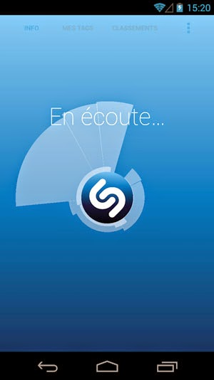 application smartphone shazam