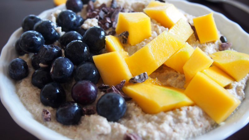 Resepti: ihana gluteeniton raakapuuro