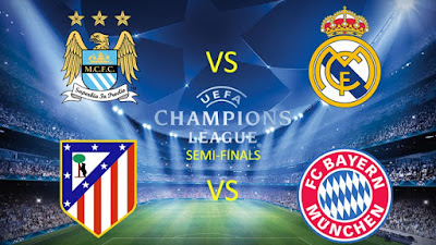 Soccer : Atletico Madrid Hosts Bayern Munich in Champions League Semifinal