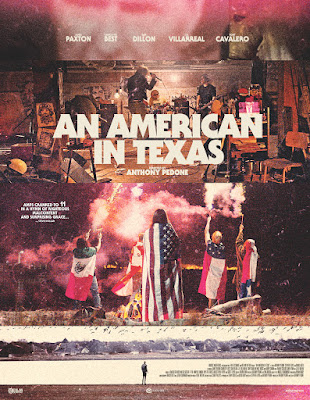 An American in Texas Poster
