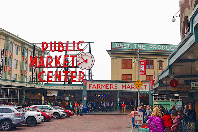Pike Place Market - Seattle, WA