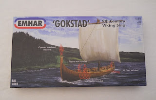 emhar Gokstad viking ship model