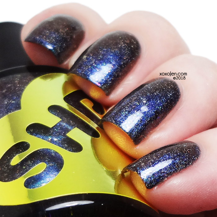 xoxoJen's swatch of Sweet Heart Polish Sanctuary of the Void