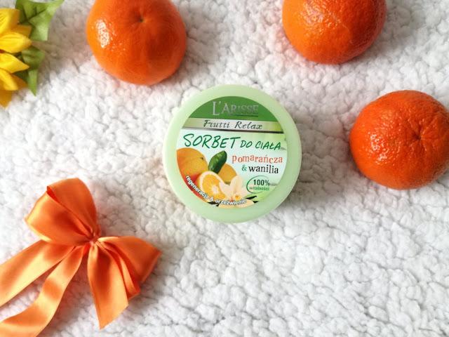 sorbet do ciała pomarańcza i wanilia