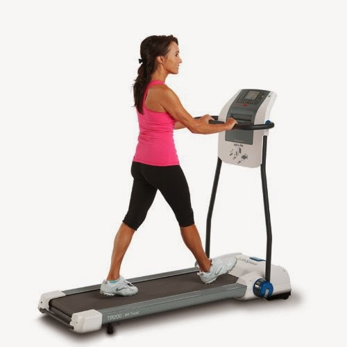 LifeSpan Fitness TR200 Fold-n-Stor Compact Treadmill, walk your way to fitness, review features and buy at low price