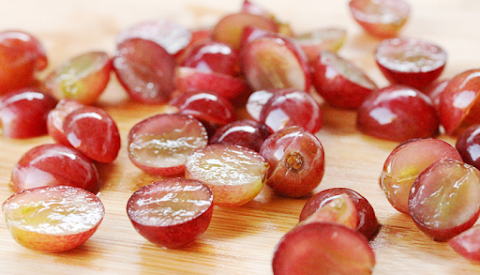 BEWARE: Eating whole grapes can cause choking