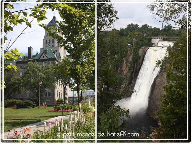 Québec et le chute de Montmonrency