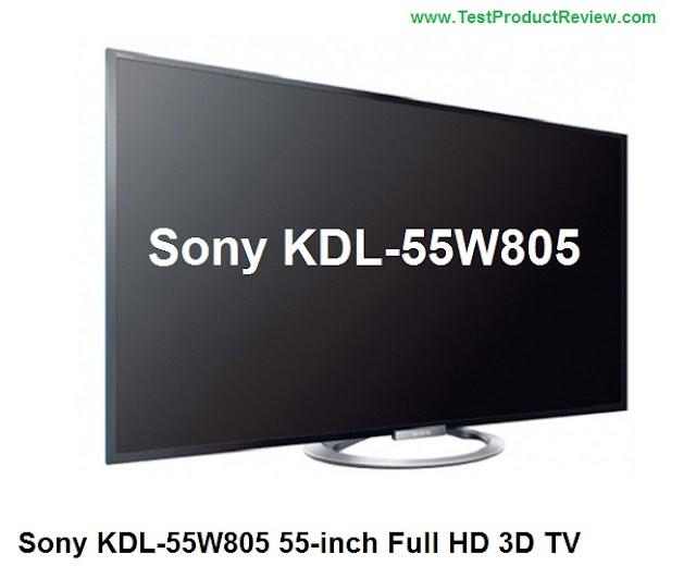 Sony KDL-55W805 55-inch Full HD 3D TV review