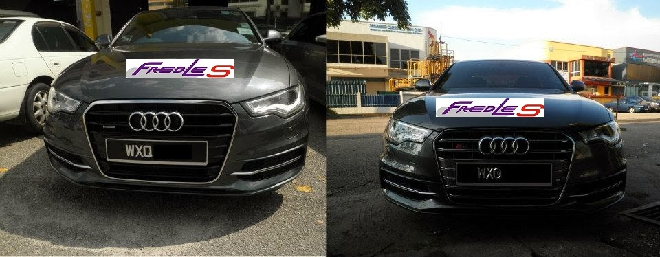 AUDI A6 C7 Conversion | FREDLES