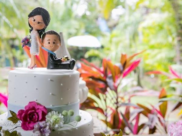 Fernanda ♥ Denilson : Mini Wedding no Jardineto