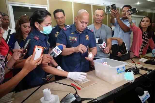 Bato Dela Rosa Surprised Dug Test