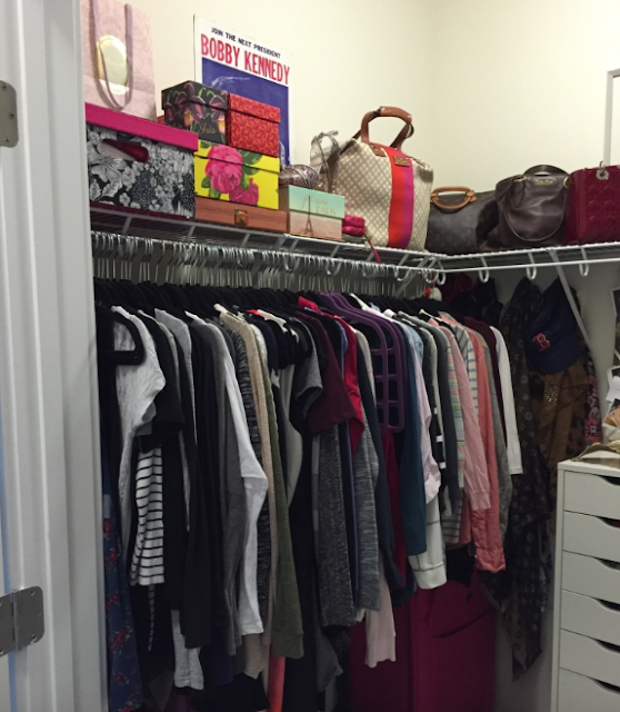 IKEA Closet Billy Bookshelves Bookcases Pax DIY Built Ins Closet Tour Handbag Collection Purse Collection
