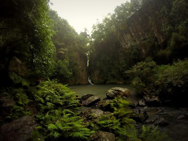 Malibiclibic Falls, Bailen Cavite