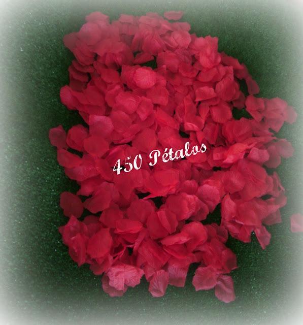 unos bonitos pétalos de rosas para bodas