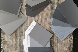 Grey And Beige Home Exterior Paint
