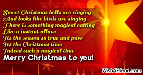 Christmas sayings for cards