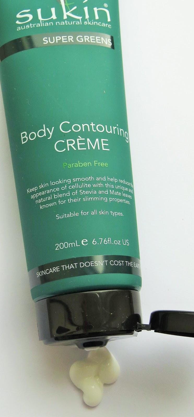 Beauty Balm: Sukin Super greens Body Contouring Crème
