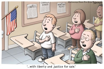 With Liberty and Justice for Sale