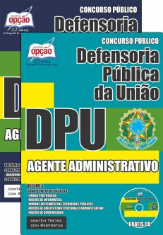 Apostila Concurso DPU - Agente Administrativo
