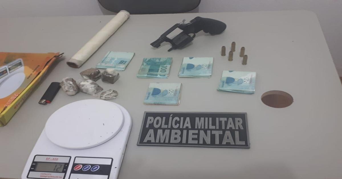 Polícia Ambiental apreende arma e droga na Zona Rural de São José de Espinharas