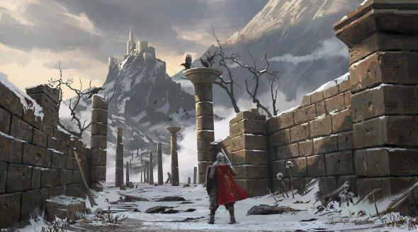 Lee b artstation arte ilustrações fantasia ficção científica cenários paisagens