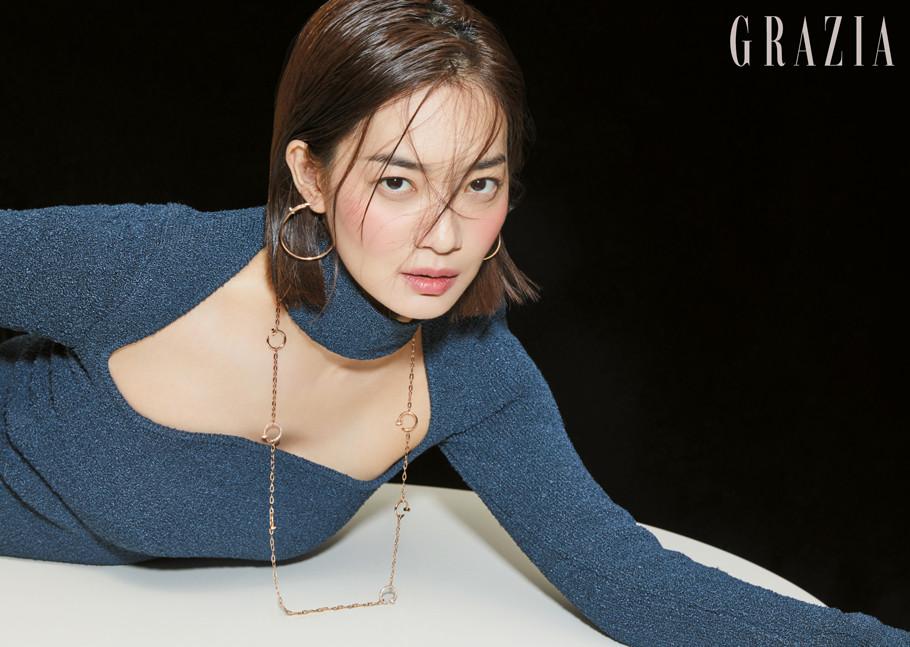 [Magazine] 20190917 Shin Min Ah @ GRAZIA Korea