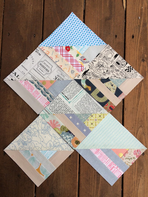 free foundation paper pieced scrap busting quilt patterns low volume scrappy