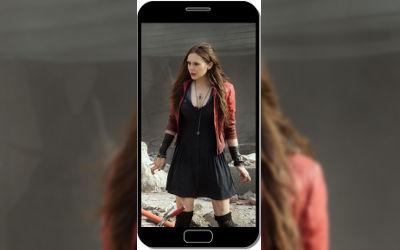 La Sorcière Rouge Avengers - Fond d'Écran en QHD pour Mobile