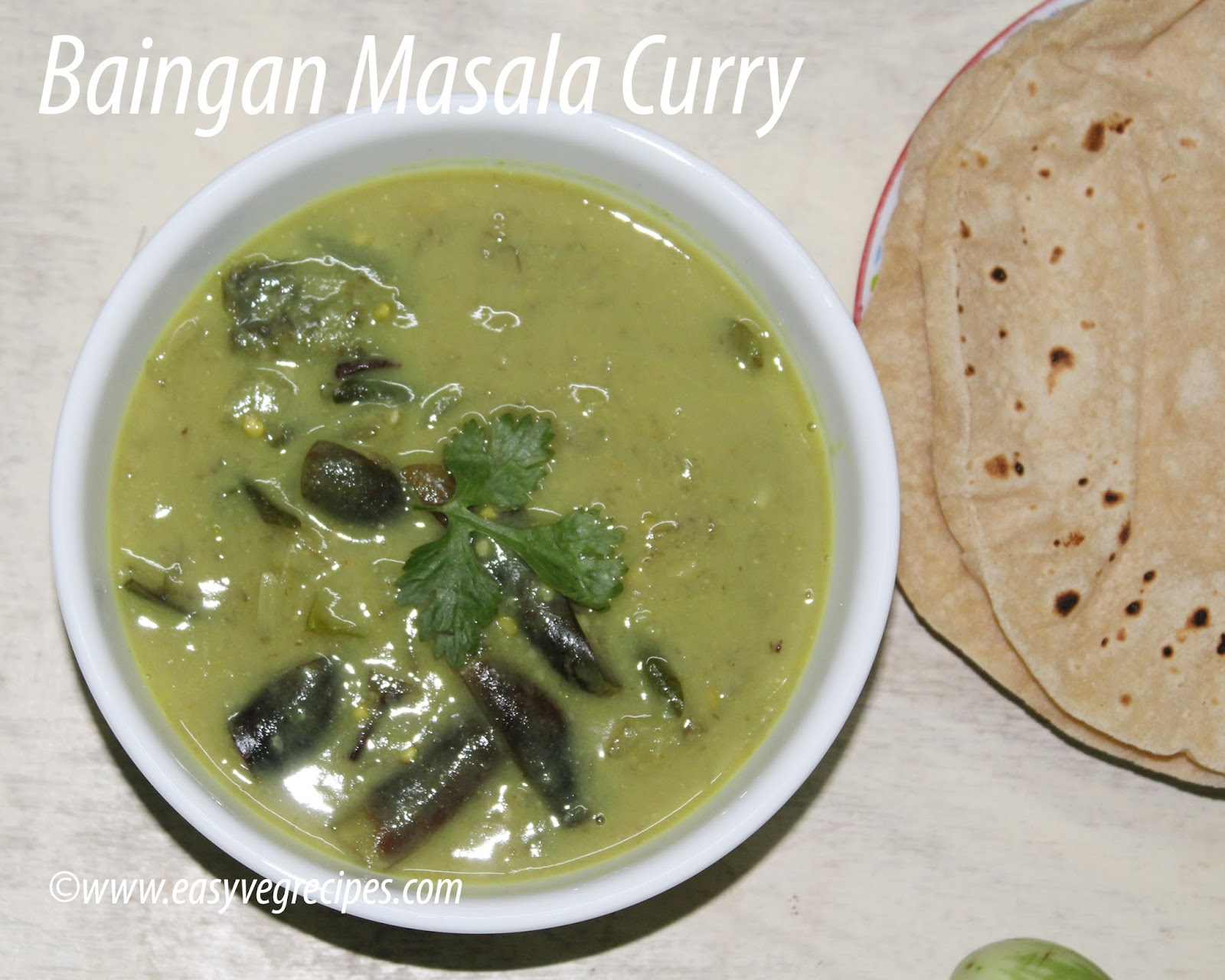 Baingan Masala Curry