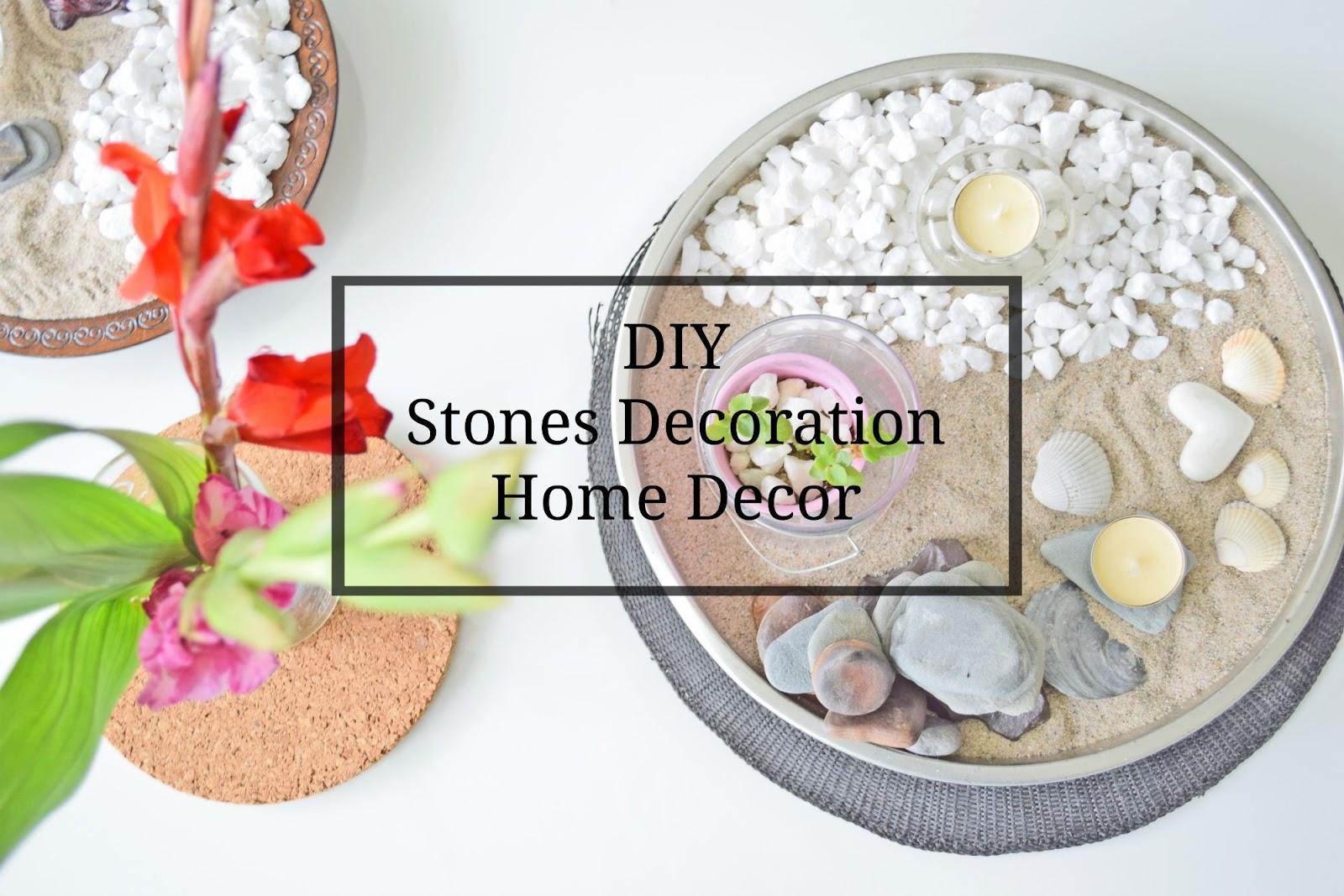 pomysły na dekoracje z kamieni