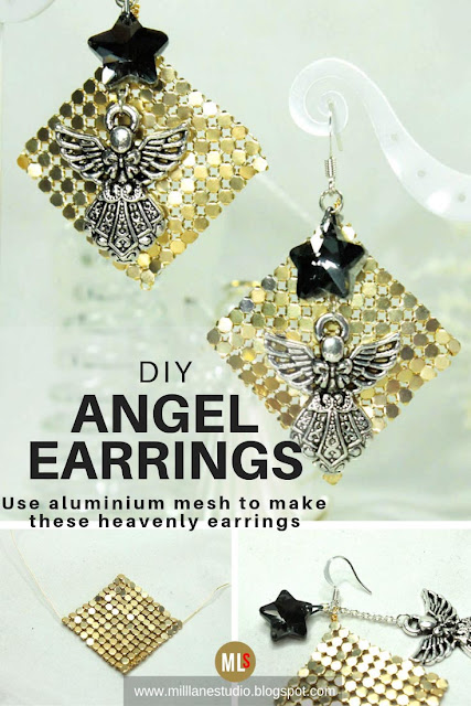 DIY Angels Earrings project sheet
