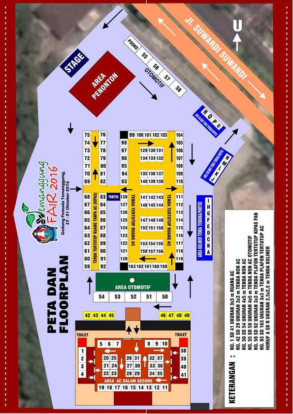 Temanggung Fair 2016 - Pameran Nasional, Festival Kuliner dan Seni Budaya