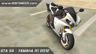 YAMAHA R1 2012 para GTA San Andreas 2
