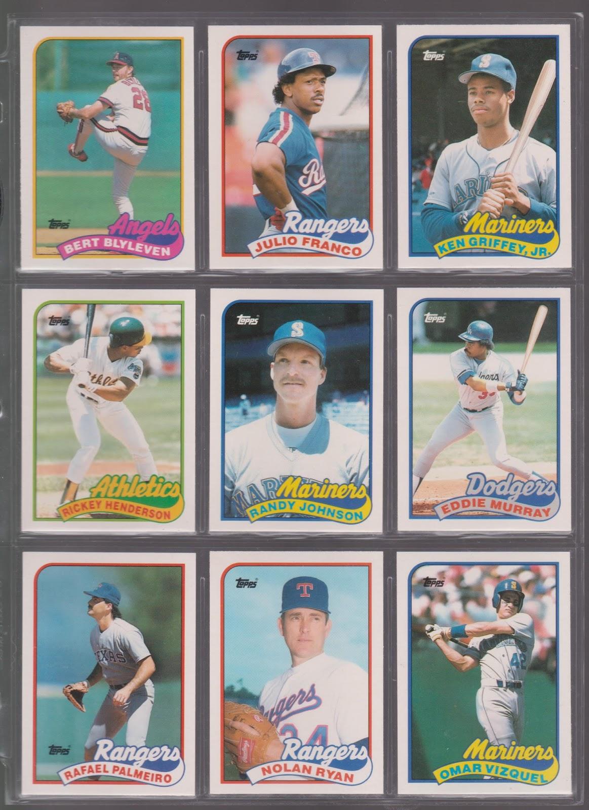 20th Century Topps Baseball 1989 Topps Traded Set 1t 132t