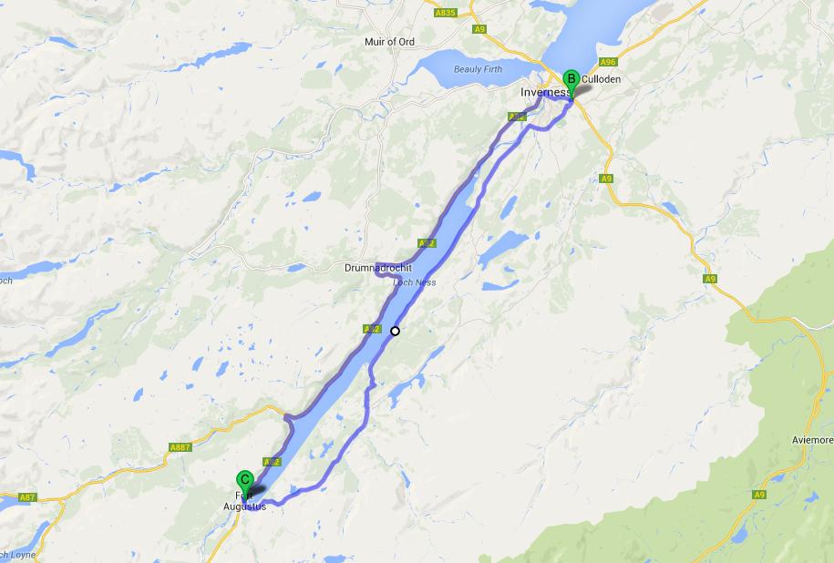 Loch Ness Karte.Urquhart Castle Ruins Lee Reid Family Travels Photo Blog