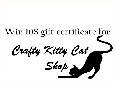 Crafty Kitty Cat Shop's giveaway