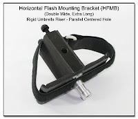PJ1102: Horizontal Flash Mounting Bracket (HFMB Dbl Wide), Rigid Umbrella Riser, Spigot Mounting